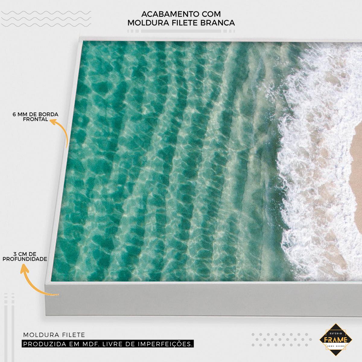 Mosaico A Areia e o Mar