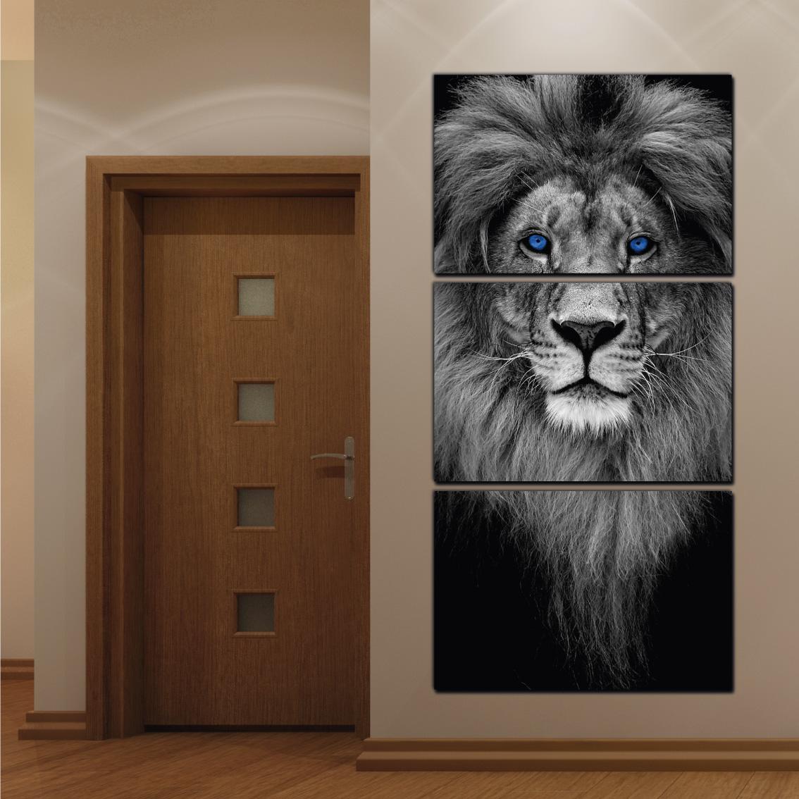 O Leão Lendário - Mosaico Vertical