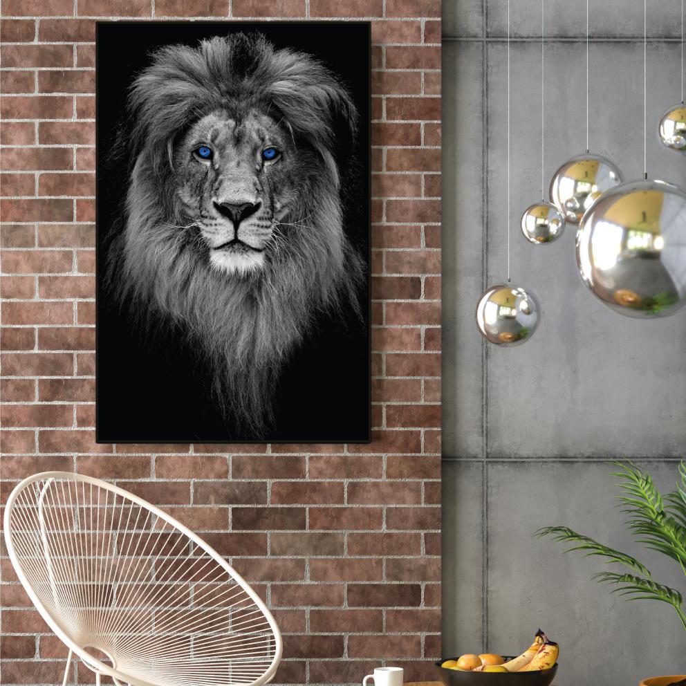 Quadro Decorativo O Leão Lendário