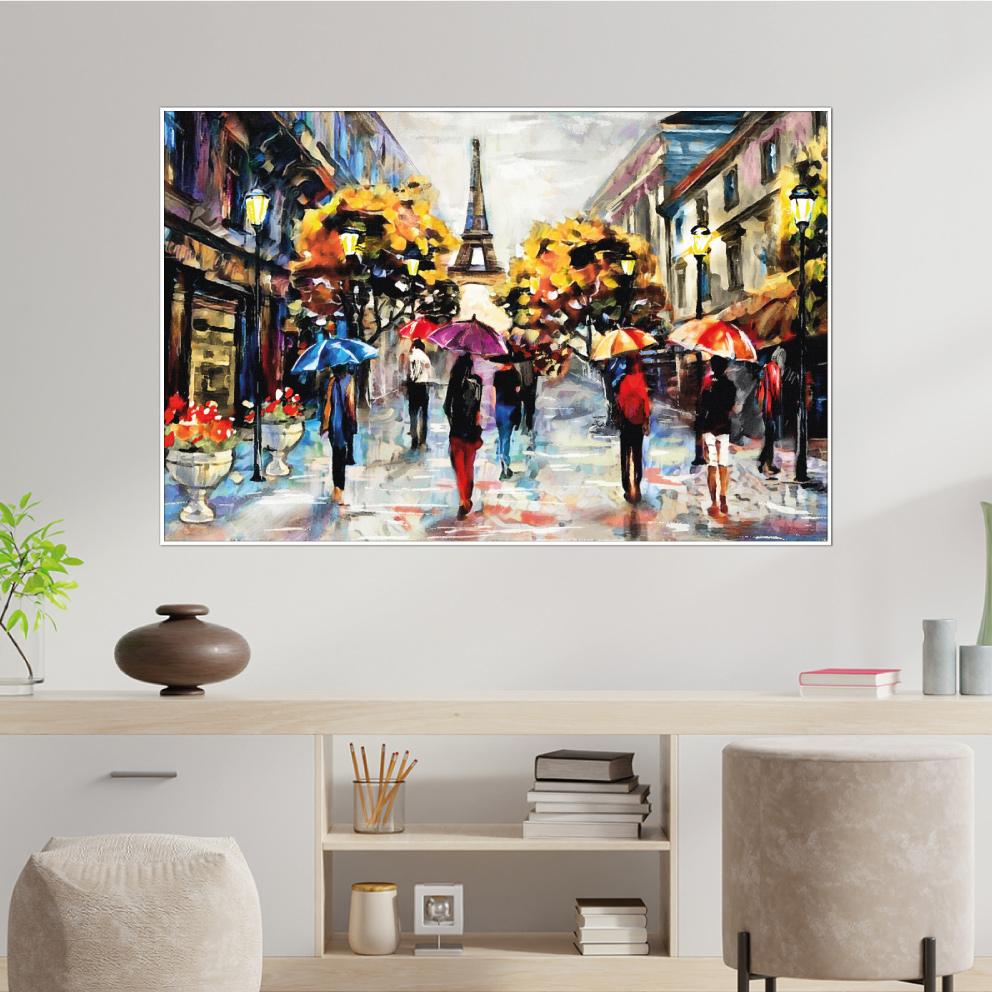Quadro Uma Tarde em Paris