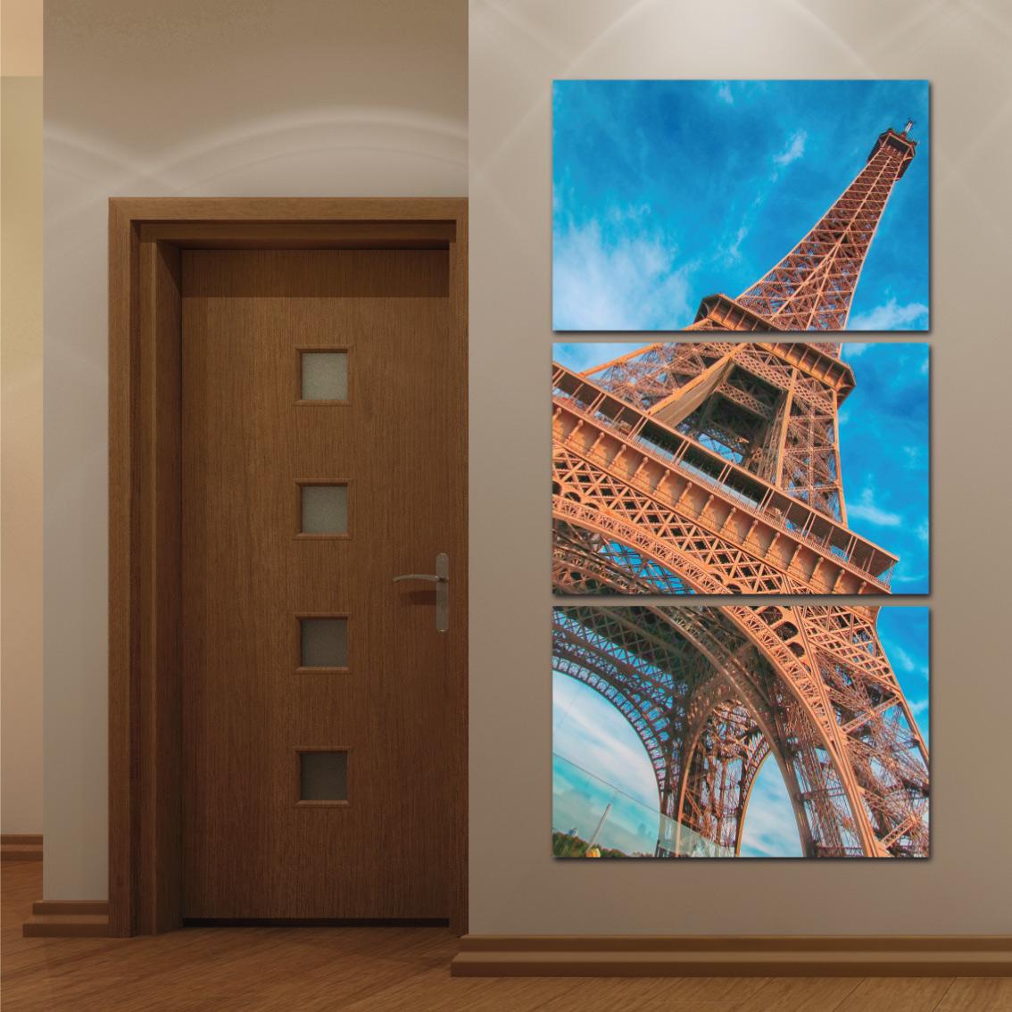 Torre Elffel - Mosaico Vertical