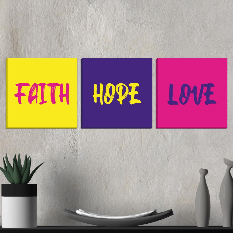Trio Faith, Hope, Love