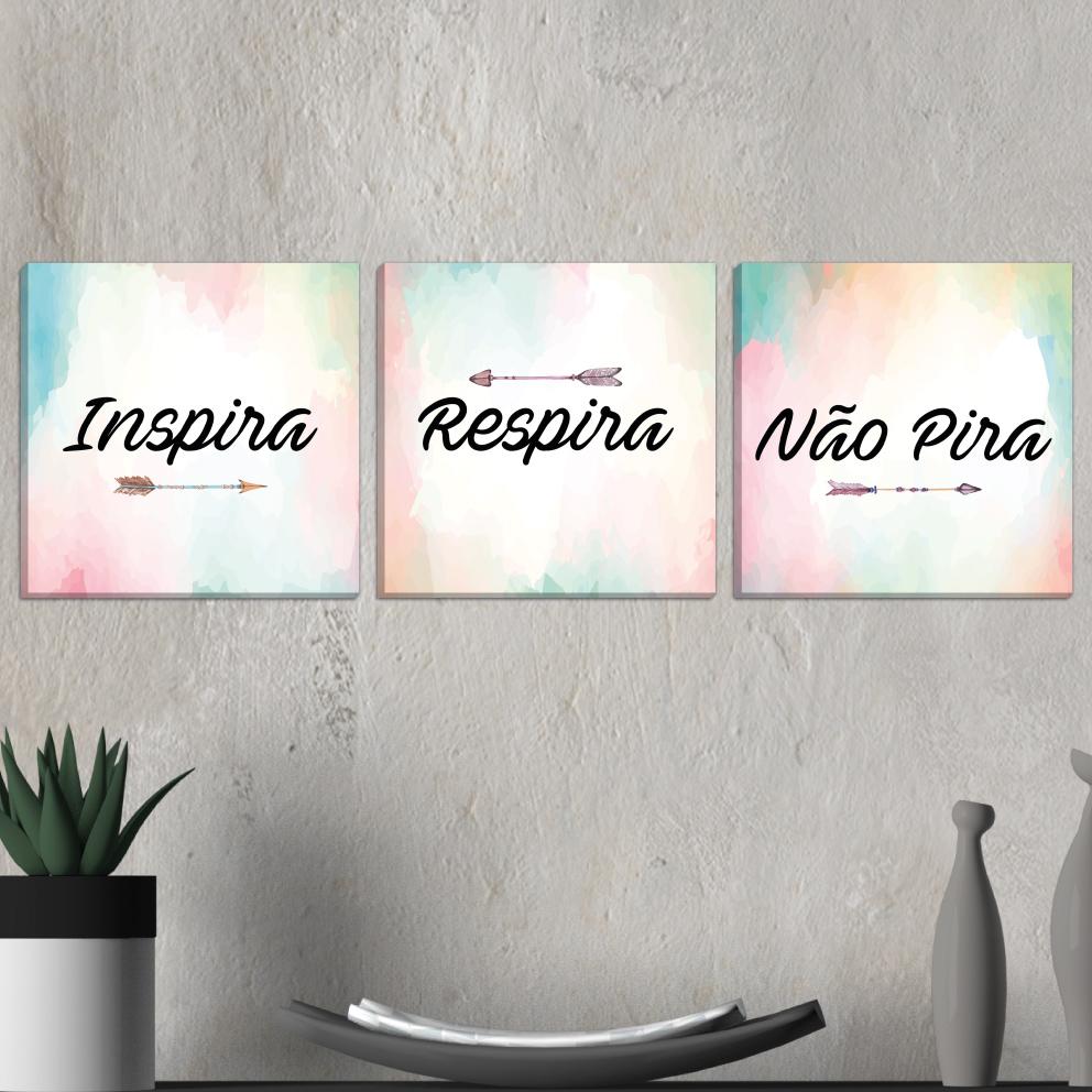 Trio Inspira, Respira e Não Pira