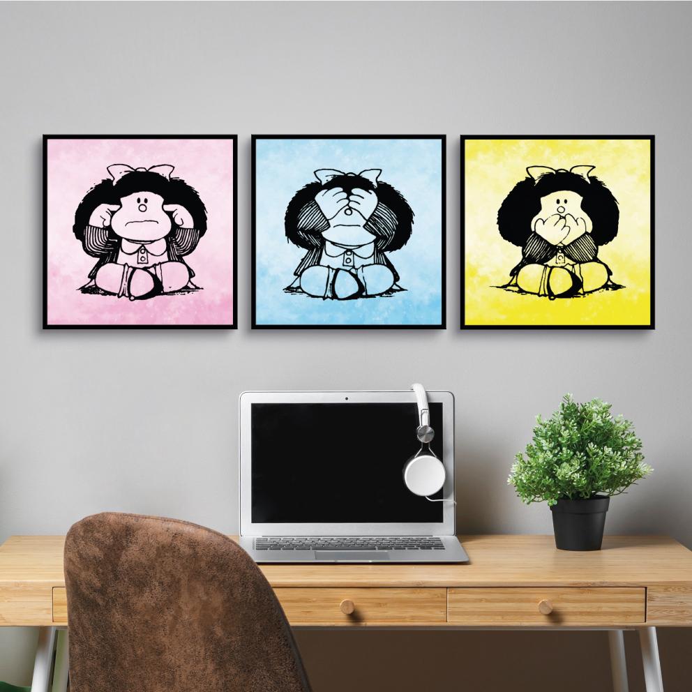 Trio Mafalda, Surda, Cega e Muda
