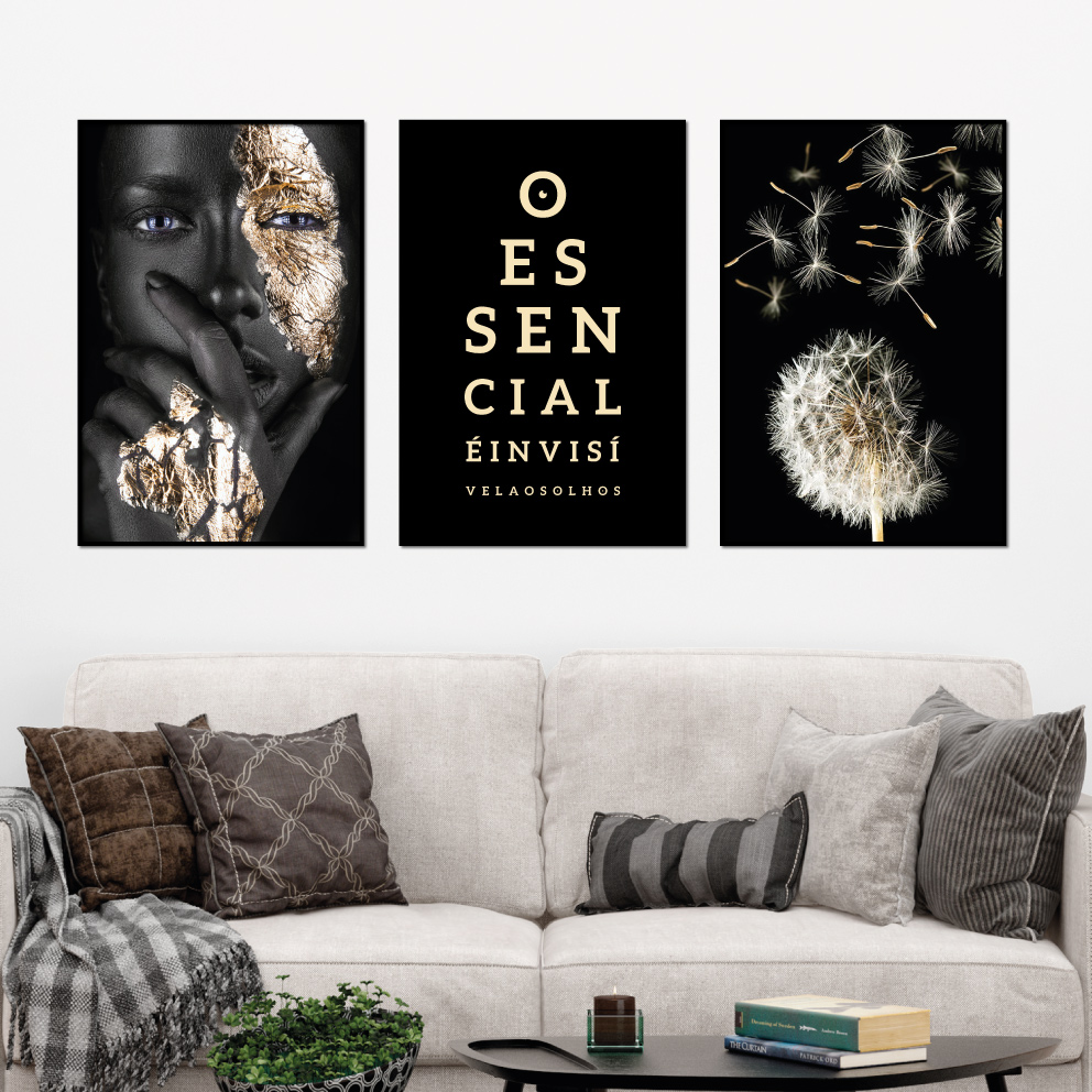 Trio O Essencial Black Gold