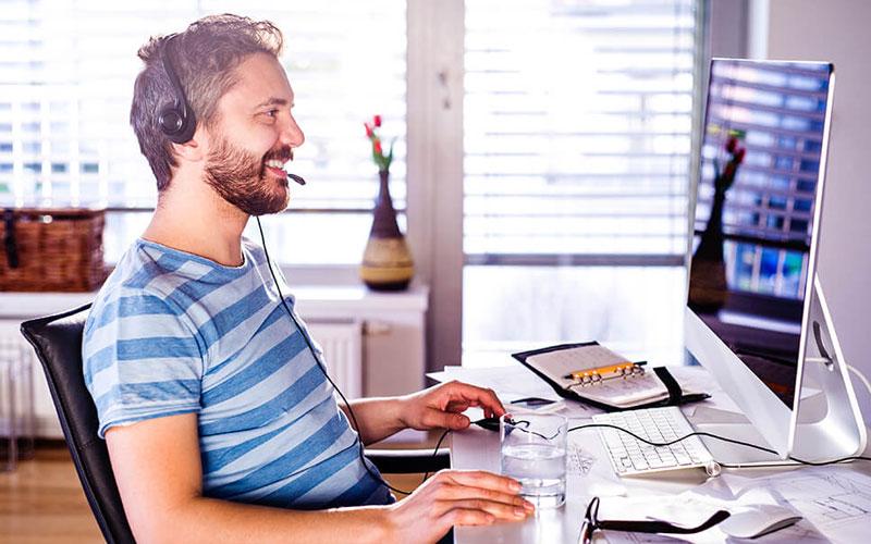 saiba como atender seus clientes com qualidade mesmo com a equipe trabalhando de casa