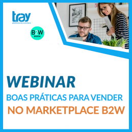 Webinar: As boas práticas das vendas no Marketplace B2W