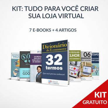 Kit: Tudo para você criar uma loja virtual de sucesso