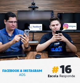 Facebook e Instagram Ads para E-commerce: Entenda as Diferenças - Escola Responde 16 Pedro Sobral e Thiago Fantim Apresentando