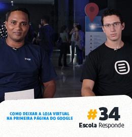 Como Deixar a Loja Virtual na Primeira Página do Google com André Mousinho Escola Responde 34
