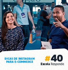 Instagram para E-commerce: Dicas para gerar Tráfego e Vendas - Geisa Alves no Escola Responde 40