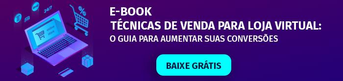 E-book Técnicas de Venda para Loja Virtual