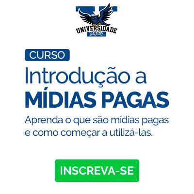 Banner curso Mídias pagas
