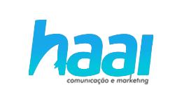 logotipo Haai Comunicação