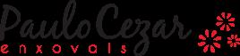 Logo da Paulo Cezar Enxovais