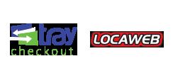 Logos TrayCheckout / Locaweb