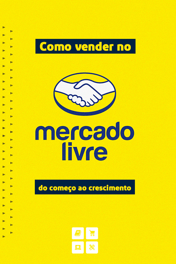 Capa E-book Como Vender no Mercado Livre