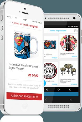 Aplicativo móvel para sua loja virtual