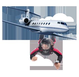 avião_com_paraquedas