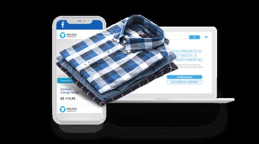 Catálogo de produtos integrado