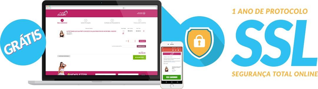 1 ano de SSl grátis para sua loja virtual